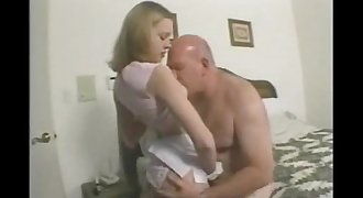 Daddy teen daughter porn fucking sex young girl older man xxx