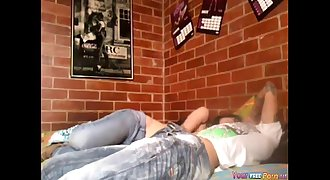 Horny College Girl Dormitory Sextape