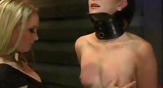 Petite tit spank training