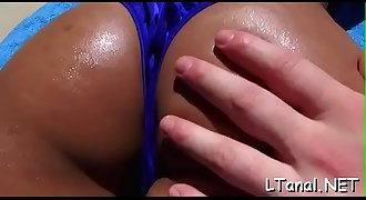 Steamy anal invasion for sexy petite