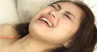 Petite japanese whore enjoys anal sex