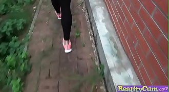 Hot Spanish jogger fucks on stairs(Penelope Cum) 02 video-11